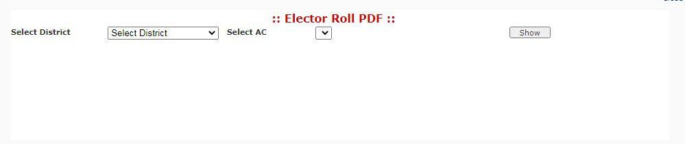 UP electoral roll pdf